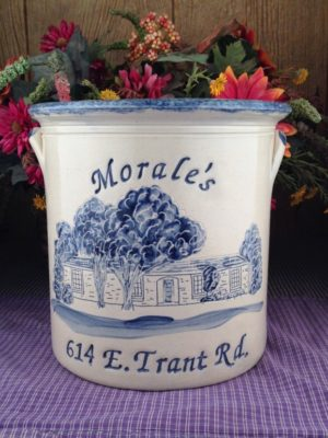 Personalized Handmade Pottery Gallon House Crock