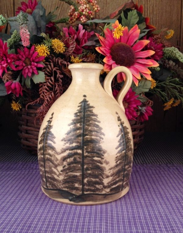 One of a kind Custom Handmade Pottery Jug