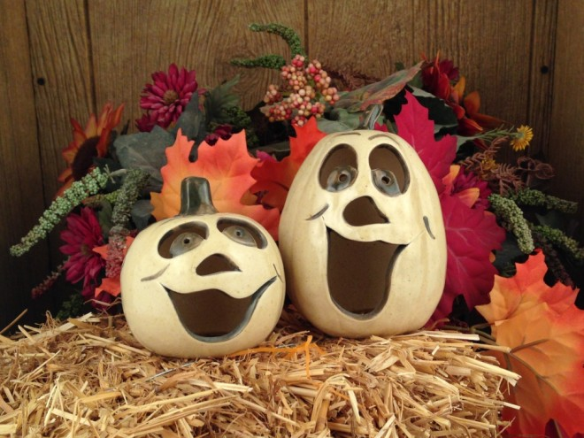 Halloween and Fall Pottery
