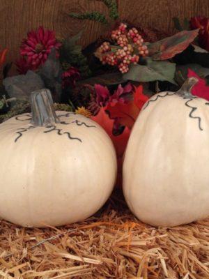 Handmade Pottery Pumpkins
