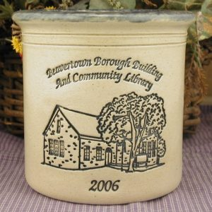 Custom Handmade Pottery Half-Gallon Crock