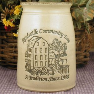 Custom Handmade Pottery Quart Shoulder Crock