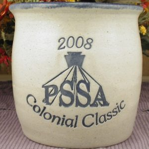 Custom Handmade Pottery Gallon Belly Crock