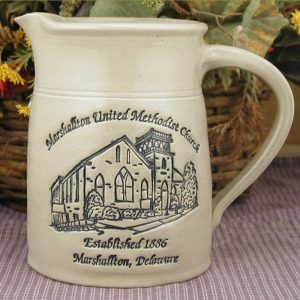 Custom Handmade Pottery Quart Pitcher