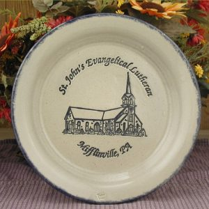 Custom Handmade Pottery Dinner Plate