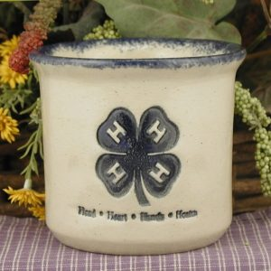 Custom Handmade Pottery Half-Pint Crock
