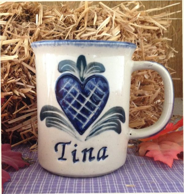 One of a kind Personalized Handmade Stoneware Mug